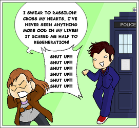 DW: Time Lord Humour by AqueousSerenade