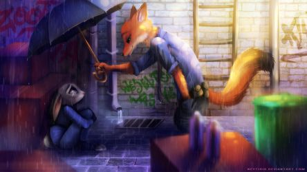 Come on Partner... (Zootopia Fanart) by Neytirix