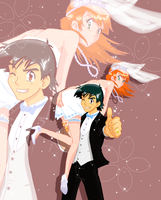 Mr. and Mrs. Ketchum -Ver.2 by HollyLu