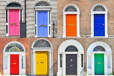 Types of Georgian doors in Dublin by jordache