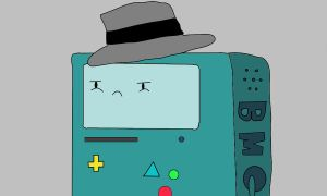 Detective Beemo by TheAwesomeFaces