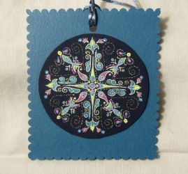 Mandala Hanging Ornament by mandalagal