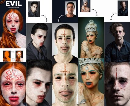 Evil Photoshop Action by GraphicAssets
