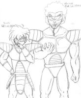 Saiyans by Wolf-fang4