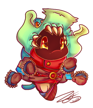 Whopper And Chauncey Redesign by Nights2Dreams