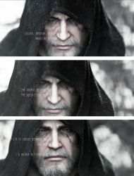 Geralt of Rivia/Killing Monsters, quote by lucylucycoles