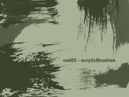 owl03 - acrylicBrushes by owl