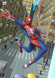 Spidey PS4 by RamosesDantas