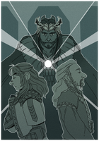 The Line of Durin by Inimeitiel-chan