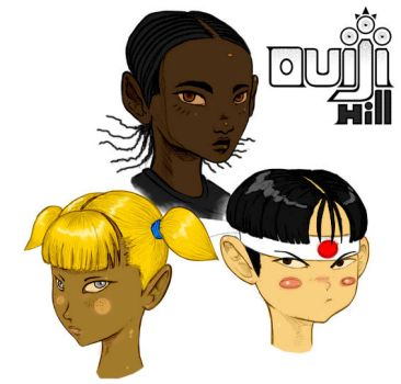 OUIJI HILL NOVEL MAIN CHARACTERS by G-flux