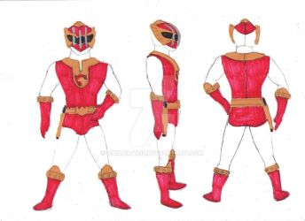 Toku Knights Spandex WIP by chimera335