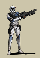 ARC Trooper by Blazbaros