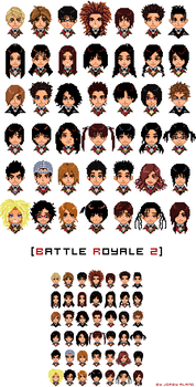 battle royale 2 - pixel by damndamndrum