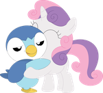 Oh Yeah, Sweetie Belle Is My Trainer Now, Punk 2 by Porygon2z