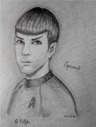 Spock (Zachary Quinto) by Trilly21