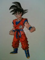 Goku by AlPendragon