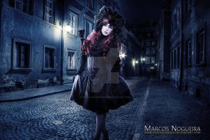 Lady of the Night by marcosnogueiracb