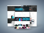 Freebie - 3D Web Presentation Mock-Up by GraphBerry