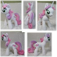 adult! Sweetie Belle plush by Rens-twin