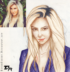 LookALike - Charlotte Flair by DzynrChakry