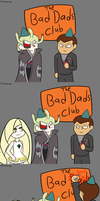 Bad Parents Club by osarumon