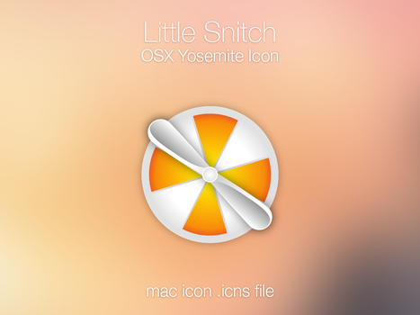 Little Snitch Yosemite Icon for mac by sirubico