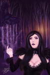 Mother of ravens by Arkel666