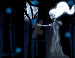 In the Forest by Moonlight-Bloomer