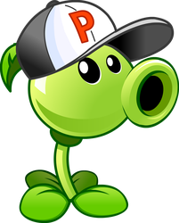 Plants vs Zombies 2 Peashooter(Costume)online-A Th by illustation16
