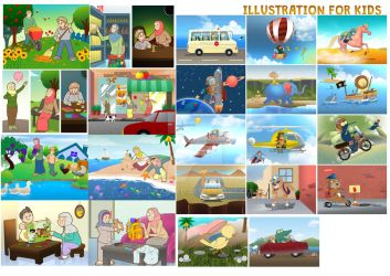 Illustration for Kids 2012-2017 by ridwanted