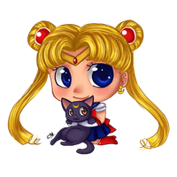 Sailor Moon by chocolate17