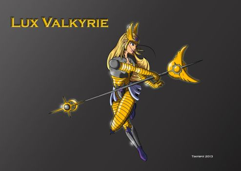 Lux Valkyrie by tinyspit