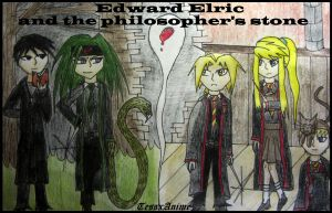 Edward Elric and the Philosopher's stone by TessxAnime