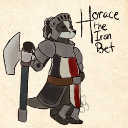 Quick Okami Style - Horace by TheYUO