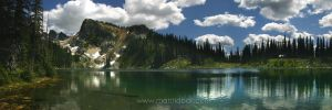 Eva Lake - Mount Revelstoke by mattTIDBALL