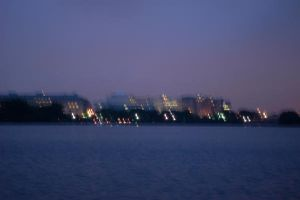 Washington DC view at night by anakinluvr