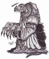 Skeksis by XenoTeeth3