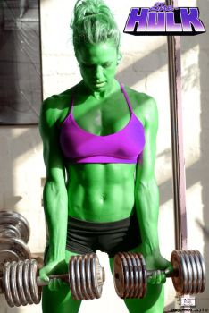 She Hulk - Workout 3 by TheSnowman10
