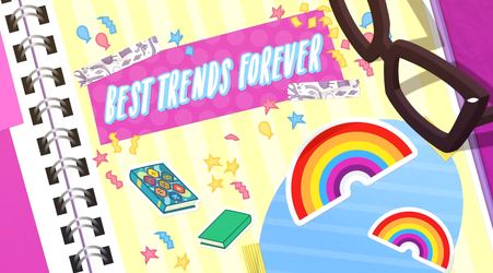 MLP EQG Best Trends Foreve  part Name by Wakko2010