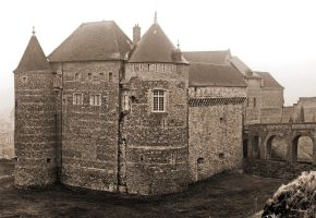 Castle - Dieppe by UdoChristmann