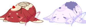 Crepe Bunny Auction: CLOSED by XeoAdopts