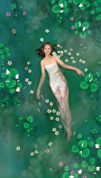 Stacey as Faery of Water by Wen-M