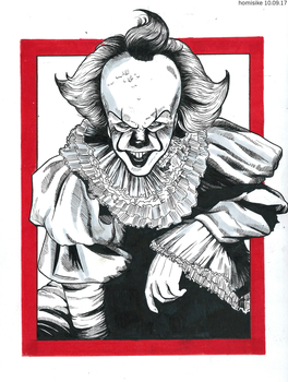 It: Pennywise by homisike