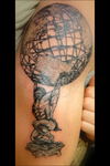 Atlas Tattoo by LynZtheMaddTatter