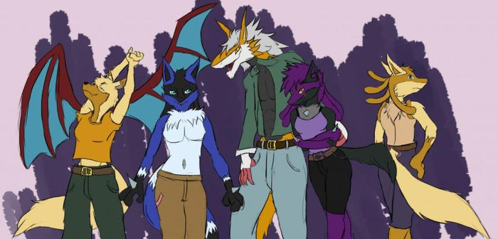 Big family by JohnSergal