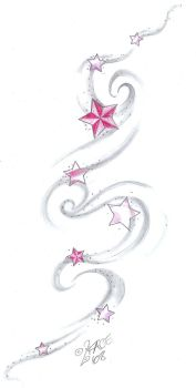 Star Tat Design shading by 2Face-Tattoo