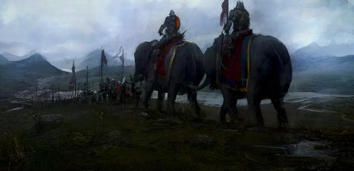 Hannibal's  army by leventep