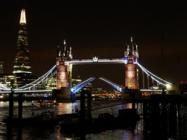 London at night 2 by CeaSanddorn