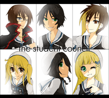 Meet Your Student Council by Roi-tan