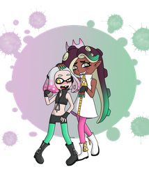 Squids and Octos by UsaRitsu
